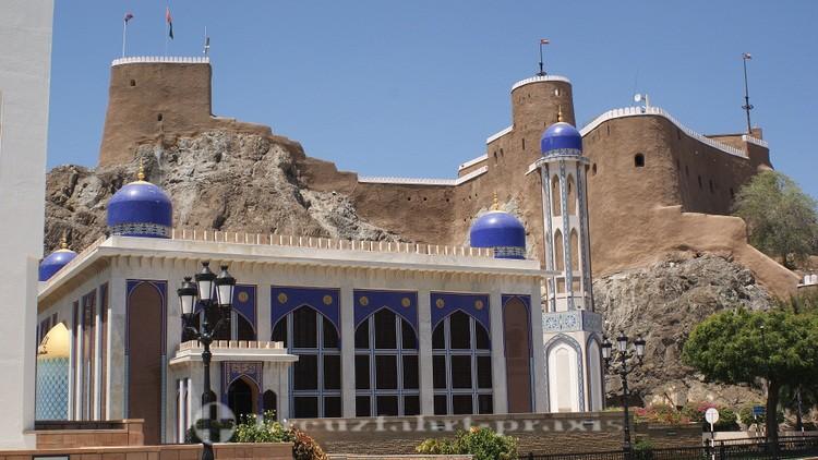 Oman - Maskat - Mirani Fort und Khor Moschee