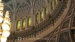Oman - Maskat - Sultan Qaboos Moschee - Details der Kuppel