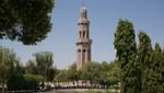 Oman - Maskat - Seitenminarett der Sultan Qaboos Moschee