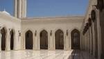 Oman - Maskat - Sultan Qaboos Moschee - Innenhof