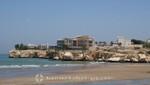 Oman - Maskat Qurum - Strand und beste Wohnlagen
