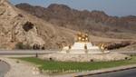 Oman - Maskat - Ein Coffee-Pot-Kreisverkehr