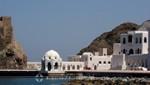 Oman - Alt-Maskat - Sultanspalast von See gesehen