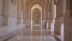 Oman - Alt-Maskat - Arkaden eines Nebengebäudes