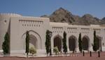 Oman - Alt Maskat - Al Alam Sultanspalast - Nebengebäude