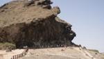 Salalah - Fels bei Mughsail