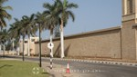 Salalah - Außenmauer des Sultanspalasts