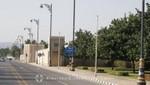 Salalah - Sultanspalast - Die Außenmauer