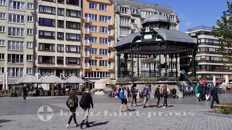Der Wapenplein im Stadtzentrum