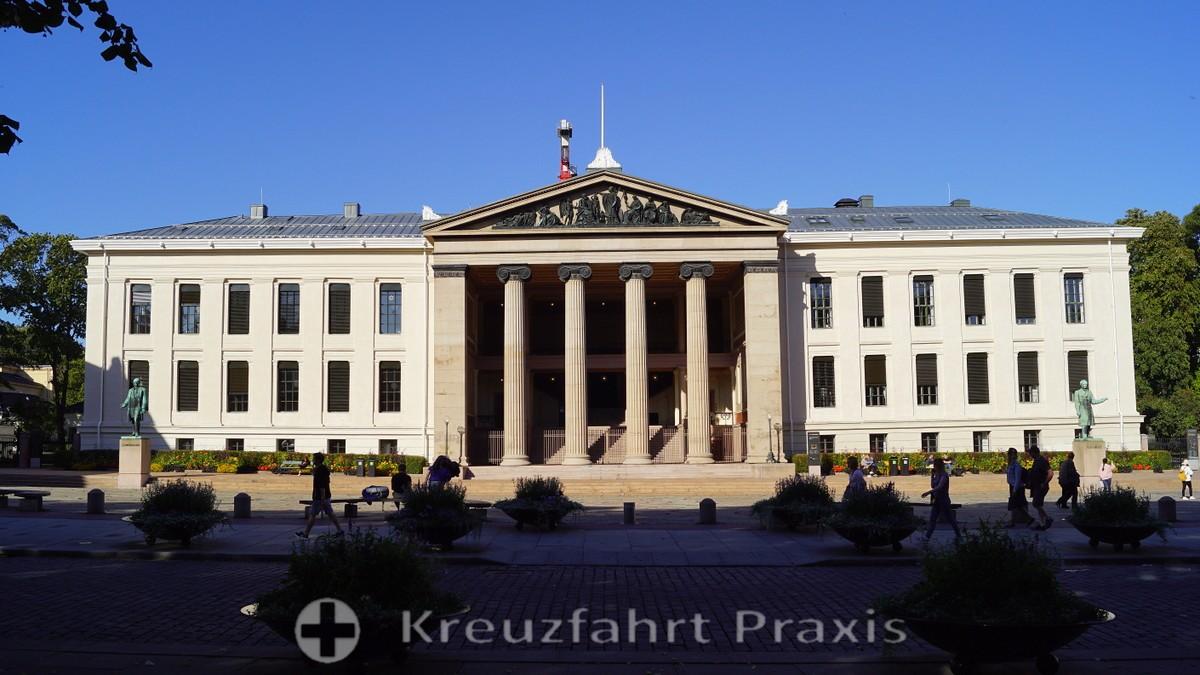 Universitätsgebäude an der Karl Johans Gate