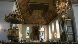 Altarraum der Oslo Domkirke