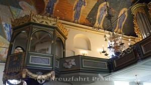 Deckenmalereien in der Oslo Domkirke