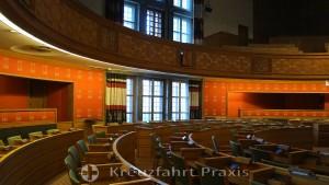 Rathaus von Oslo - Sitzungssaal der Ratsversammlung