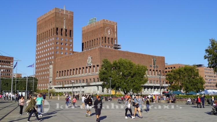 Oslos Rathaus