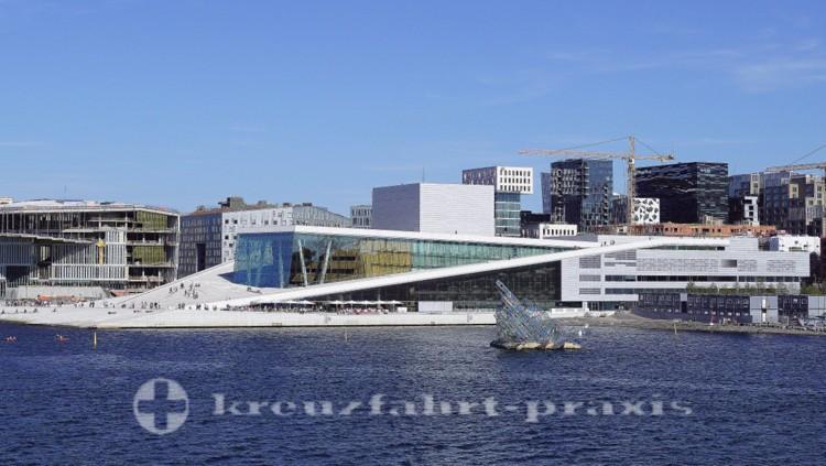 Oslos neues Opernhaus & Ballett