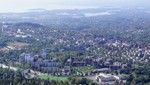View of Oslo from the ski jump