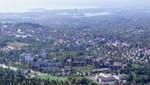 Blick von der Schanze auf Oslo