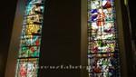 Buntglasfenster im Osloer Dom