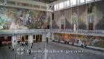 Die Halle des Osloer Rathauses