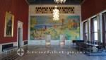 Der Bankettsaal des Osloer Rathauses