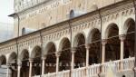 Die offene Galerie des Palazzo della Ragione