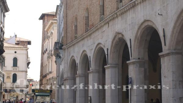 Historische Gebäude in Paduas Zentrum