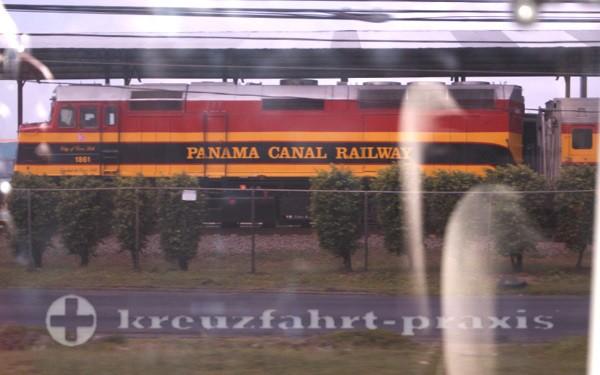 Panama - Panamakanal Eisenbahn
