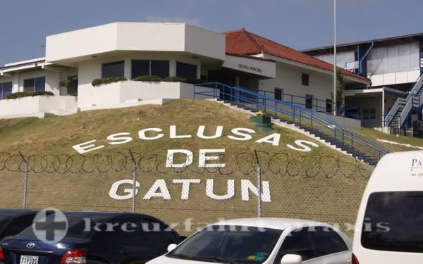 Panama - An der Gatunschleuse