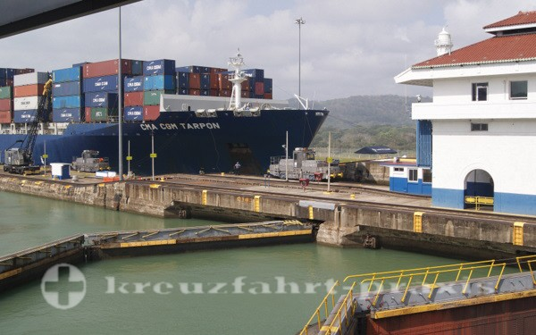 Panama - Schleusentore