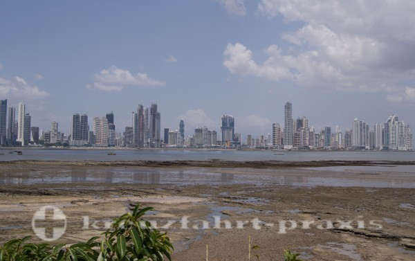 Panama - Skyline an der Punta Paitilla