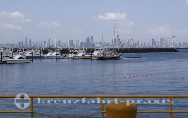 Panama - Jachthafen auf Flamenco Island