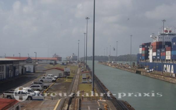 Panama - Gatunschleuse am Panamakanal