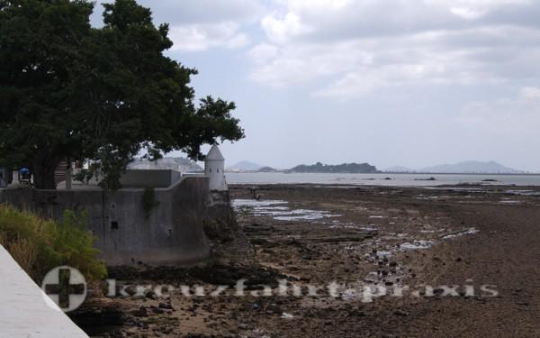 Panama - Niedrigwasser am Pazifik
