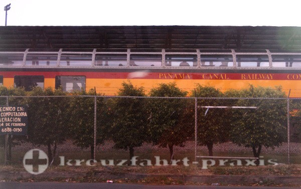 Panama - Dome car der Panamakanal Eisenbahn