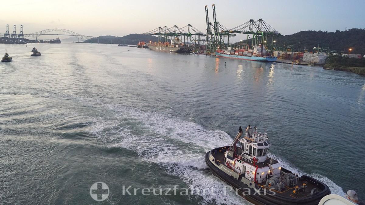 Hafenanlagen bei Panama City