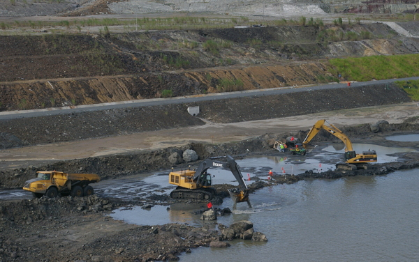 Panamakanal Passage - Erweiterungsbauten