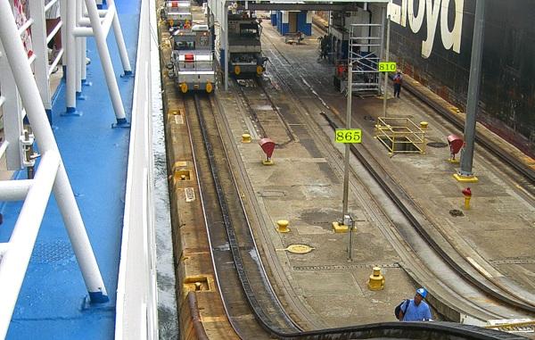Panamakanal Passage - In der Gatúnschleuse