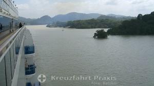 Panamakanal Passage - vor dem Gatúnsee