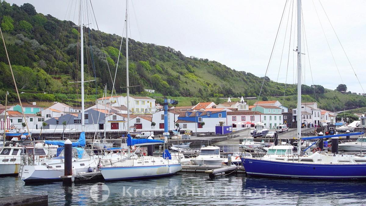 Marina of Lajes do Pico