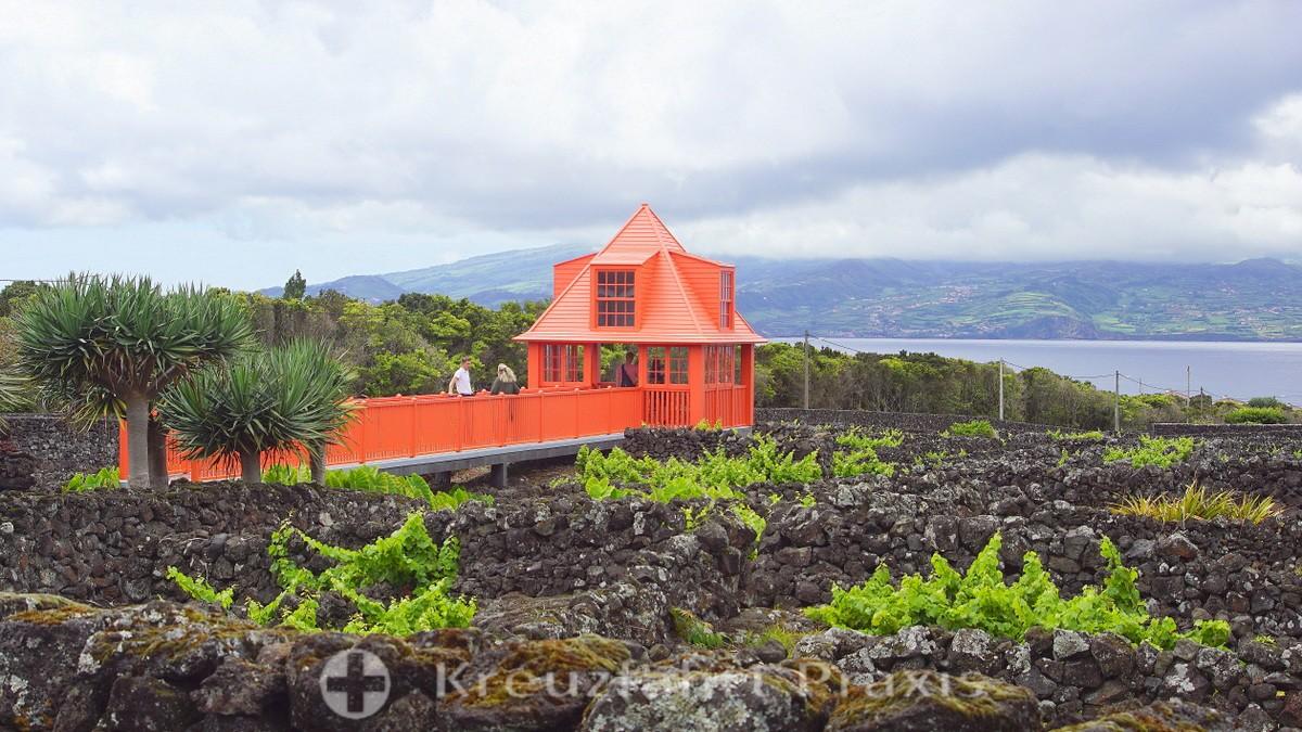 Pavilion in the Museu do Vinho do Pico