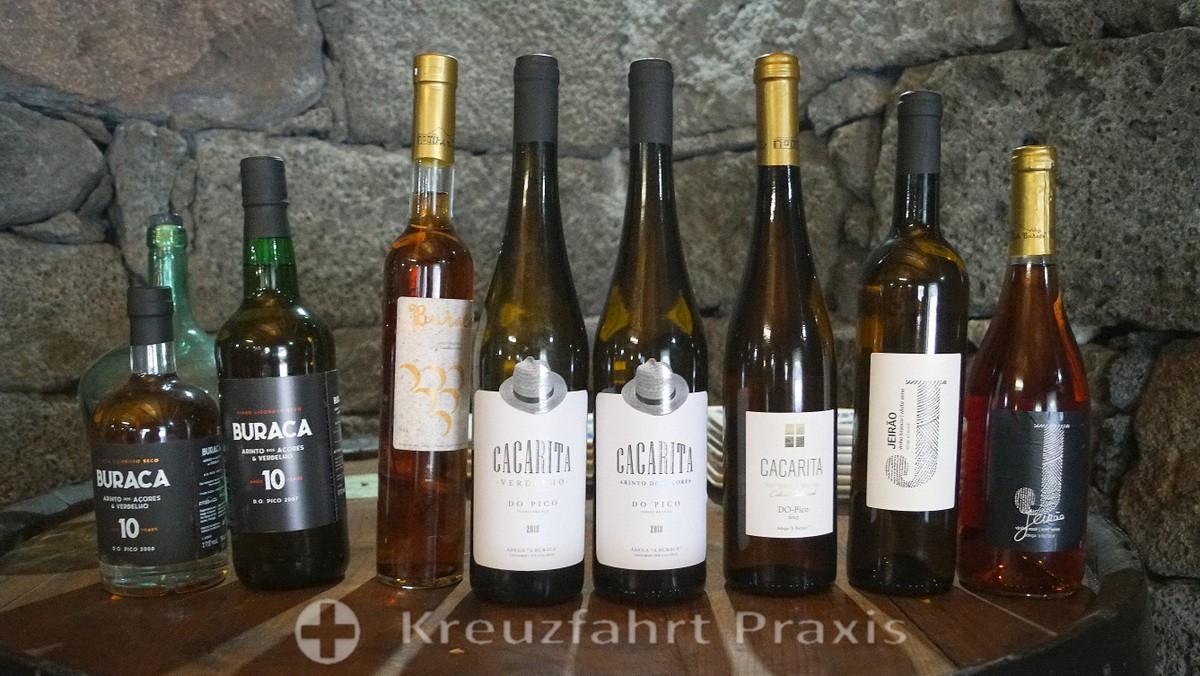 Pico / Azores - products of the Adega A Buraca