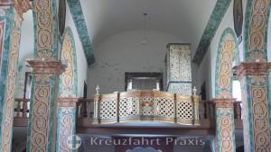 Pico / Azores - nave of the parish church of São Mateus