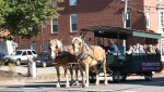 Portland - Pferde-Omnibus