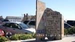 Portland - Ein Bruchstück der Berliner Mauer