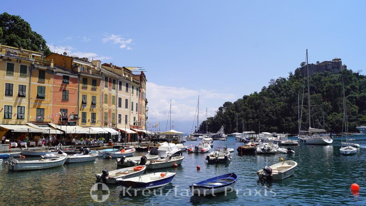 Portofinos Hafenpromenade