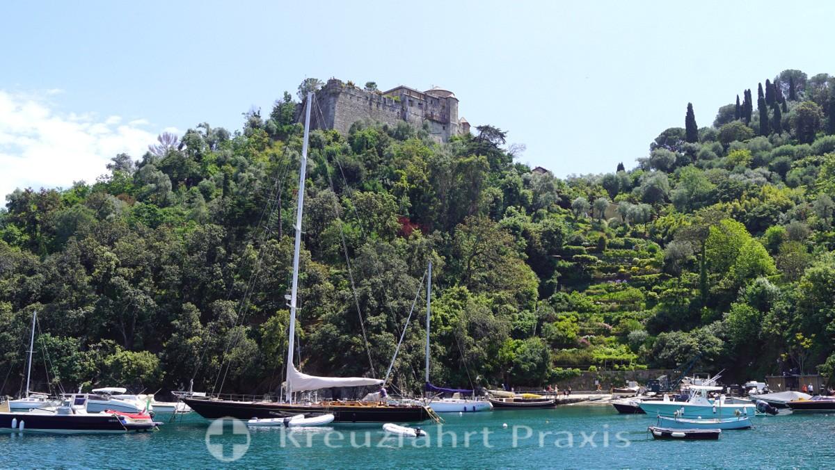 Castello Brown - hoch über Portofino
