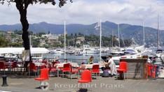 Santa Margherita Ligure - Restaurant am Hafen