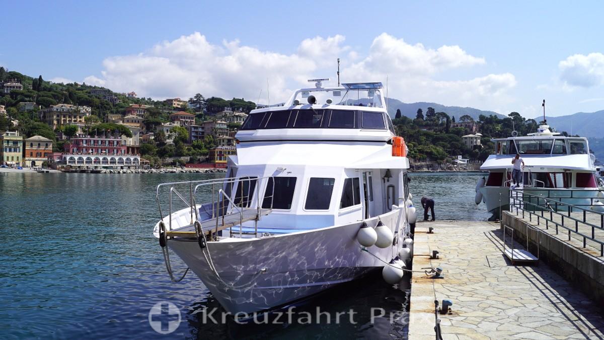Portofino-Linienschiffe
