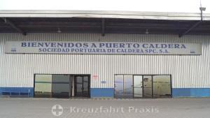 Puerto Caldera - Passagierterminal