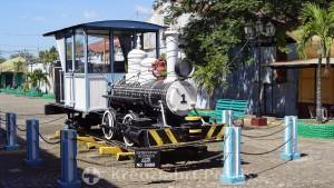 Puerto Corinto - Lokomotive - ein historisches Erbe